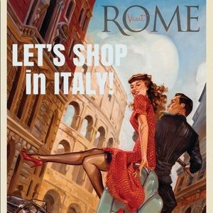LET'S SHOP in ITALY!